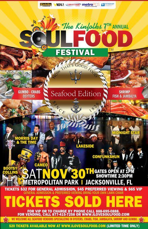 Soulfood Fest Jacksonville FL (seafood edition)