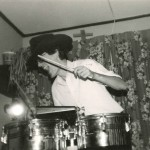 Blog picture young Dodge on the timbales