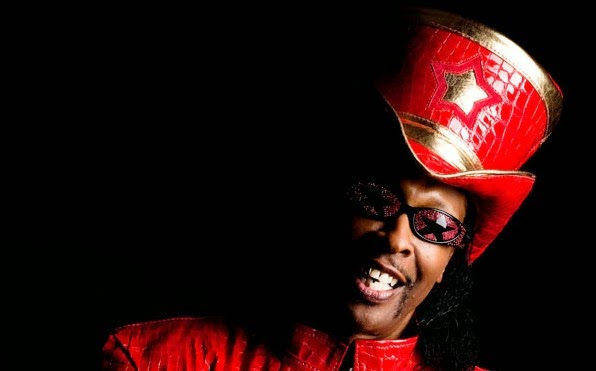 Bootsy Collins, photo taken by Michael Weintrob
