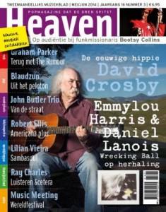 Popmagazine Heaven cover mei-juni 2014