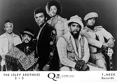 The Isley Brothers promocard
