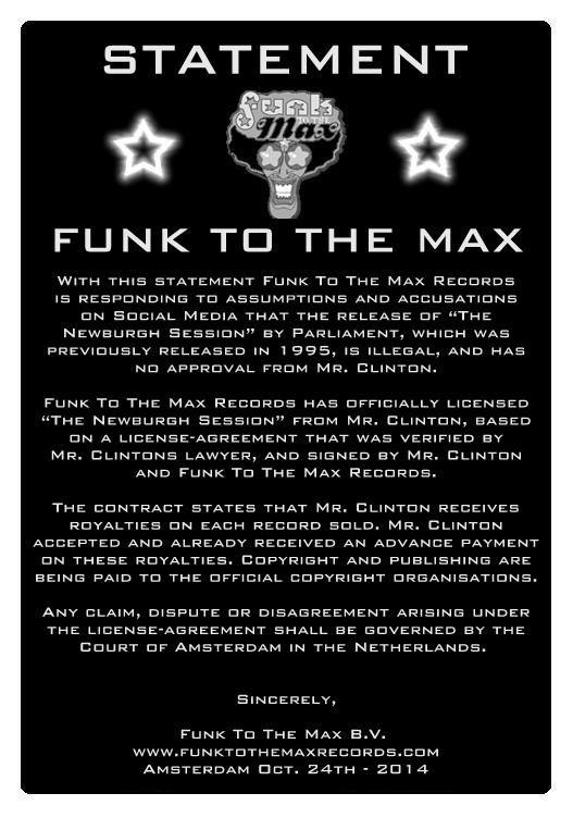 Statement Funk to the Max about The Newburgh Session
