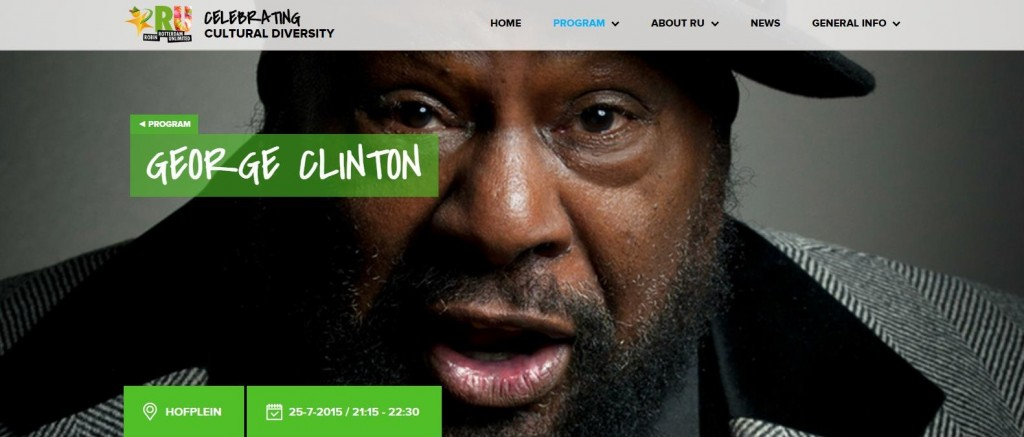 Rotterdam Unlimited presenteert George Clinton op Hofplein