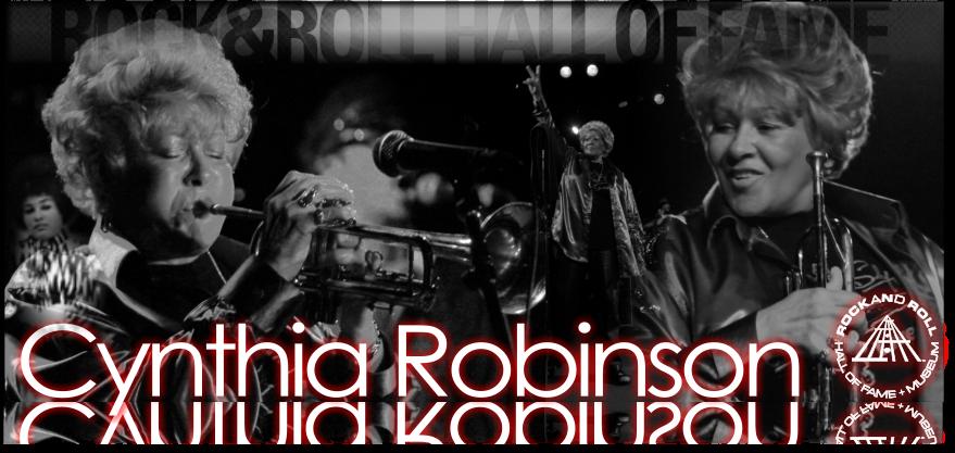 cynthia Robinson (Rock n Roll Hall of Fame)