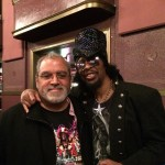 Rickey Vincent with Bootsy