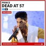 Prince overleden (TMZ)