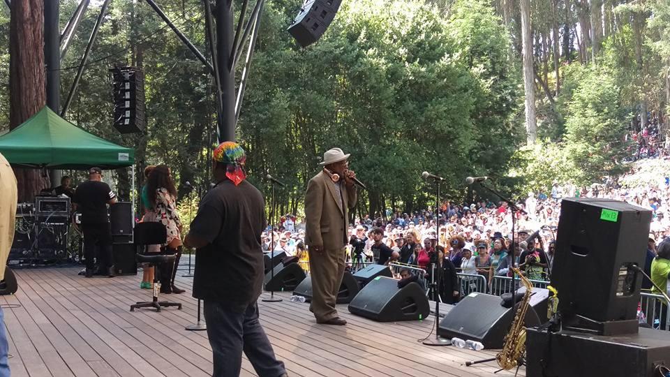 George Clinton at Stern Grove Festival