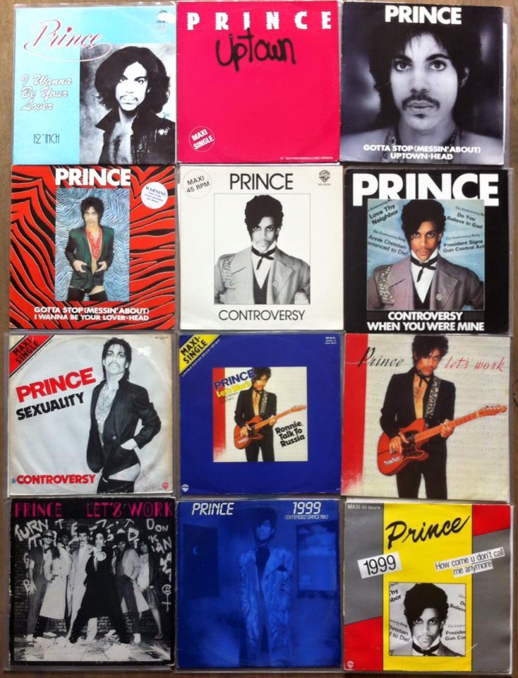 Prince vinyl covers